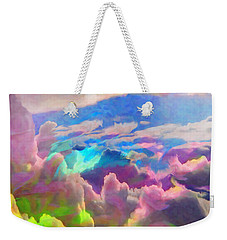 Abstract Fantasy Sky Weekender Tote Bag