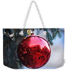 Faneuil Hall Christmas Tree Ornament Weekender Tote Bag