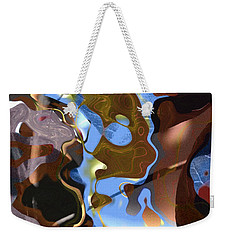 Weekender Tote Bag featuring the digital art Fargo by Richard Thomas
