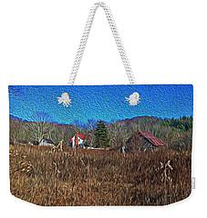Farm House 2 Weekender Tote Bag