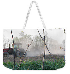 Weekender Tote Bag featuring the photograph Farm Life  by Michael Krek