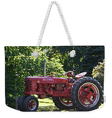 Farmall's End Of Day Weekender Tote Bag