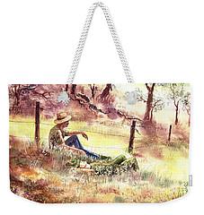 Farmers And Hunters Heaven Weekender Tote Bag