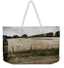 Weekender Tote Bag featuring the photograph Farming by Howard Salmon