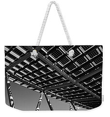 Farming The Sun - Architectural Abstract Weekender Tote Bag by Steven Milner