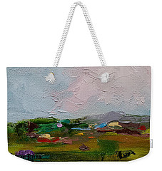 Farmland IIi Weekender Tote Bag by Judith Rhue