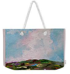 Farmland Iv Weekender Tote Bag by Judith Rhue
