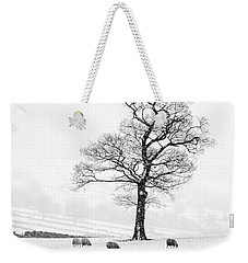 Farndale Winter Weekender Tote Bag by Janet Burdon