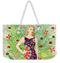 Fashion And Art - Limited Edition 1 Of 10 Weekender Tote Bag