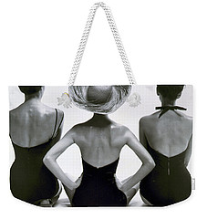 Fashion Models In Swim Suits, 1950 Weekender Tote Bag