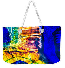 Weekender Tote Bag featuring the photograph Fast Friends by Omaste Witkowski