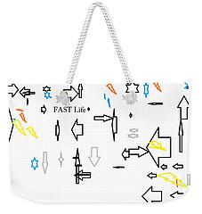 Fastlife Weekender Tote Bag