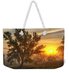 Father's Day Sunrise Weekender Tote Bag