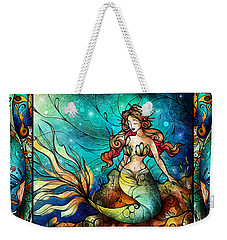The Serene Siren Triptych Weekender Tote Bag
