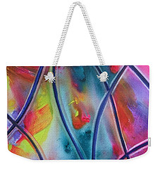 Faux Stained Glass II Weekender Tote Bag