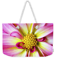 Weekender Tote Bag featuring the photograph Favorite Flower by Marilyn Hunt