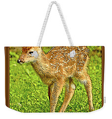 Fawn Poster Image Weekender Tote Bag by A Gurmankin