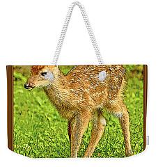 Fawn Poster Image Weekender Tote Bag