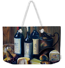 Feast Still Life Weekender Tote Bag by Donna Tuten