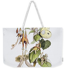 Feasting And Fun Among The Fuschias Weekender Tote Bag