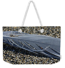 Feather And Sand Weekender Tote Bag