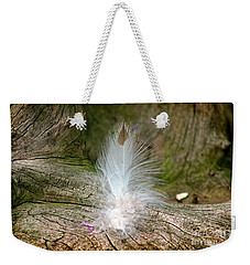 Feather Weekender Tote Bag