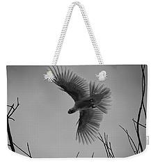 Feathered Flight  Weekender Tote Bag by Douglas Barnard