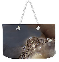 Feathers And Pearls Weekender Tote Bag by Susan Capuano