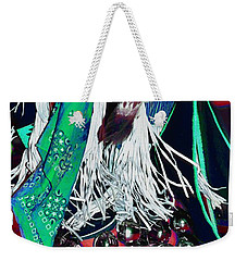 Feathers Fringe And Bells Weekender Tote Bag by Kae Cheatham