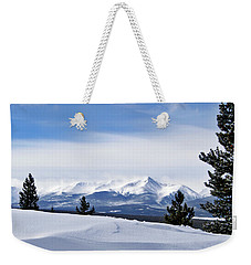 February Wind Weekender Tote Bag by Jeremy Rhoades