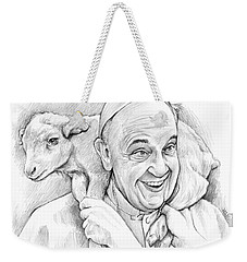 Feed My Sheep Weekender Tote Bag