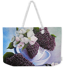 Feel The Fragrance Weekender Tote Bag by Vesna Martinjak