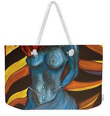 Feeling The Blues... Weekender Tote Bag