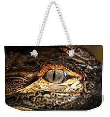 Feisty Gator Weekender Tote Bag
