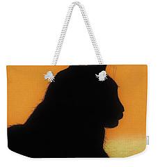 Feline - Sunset Weekender Tote Bag