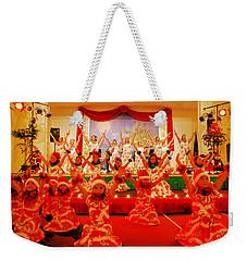 Feliz Navidad Weekender Tote Bag