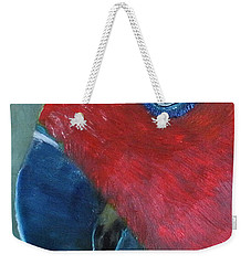 Female Eclectus Weekender Tote Bag