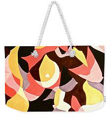 Female Nude Weekender Tote Bag