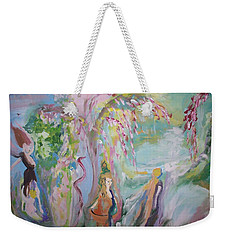 Female Persuasion Weekender Tote Bag by Judith Desrosiers