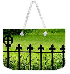 Fence And Cross Weekender Tote Bag