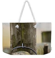Fence Post Weekender Tote Bag