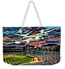 Fenway Park At Sunset Weekender Tote Bag