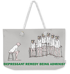 Feral Coots Alternative Medication II Weekender Tote Bag