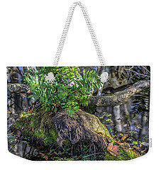 Fern In The Swamp Weekender Tote Bag by Jane Luxton