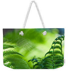 Fern Leaves. Healing Art Weekender Tote Bag