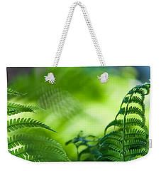 Fern Leaves. Healing Art Weekender Tote Bag
