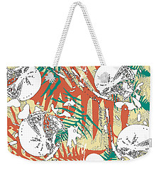 Weekender Tote Bag featuring the digital art Ferns by Jocelyn Friis