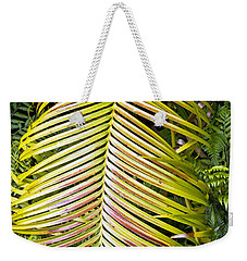 Weekender Tote Bag featuring the photograph Ferns by Kate Brown