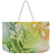 Ferns 'n' Leaves Weekender Tote Bag