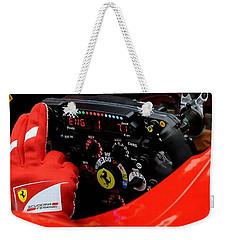 Ferrari Formula 1 Cockpit Weekender Tote Bag by Marvin Blaine